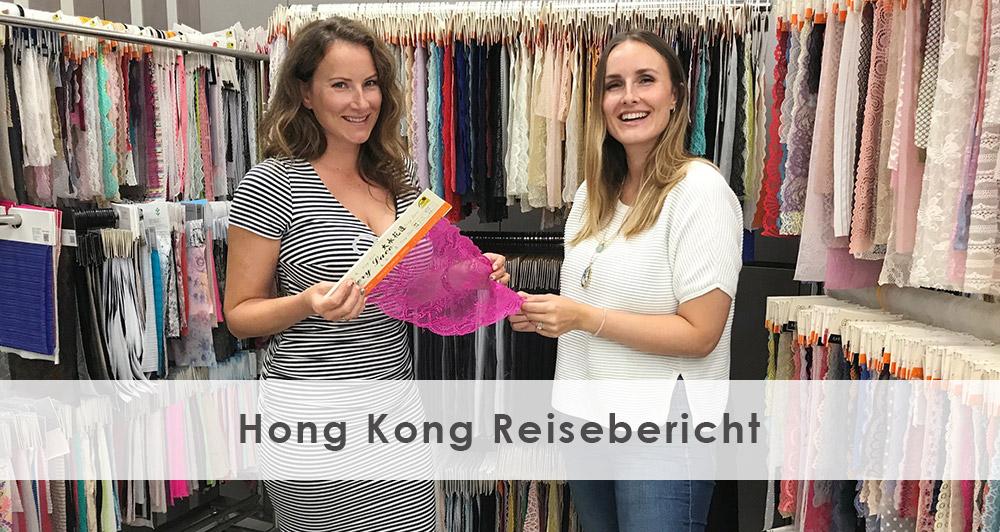 Laura und Sabrina zu Besuch in der Dessous Produktion in Hongkong