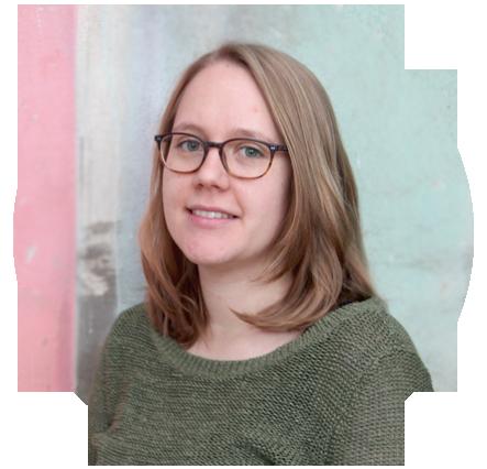 SugarShape Mitarbeiterin in der Produktentwicklung - Katharina