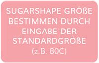 SugarShape Größe durch Eingabe der Standard-Größe bestimmen