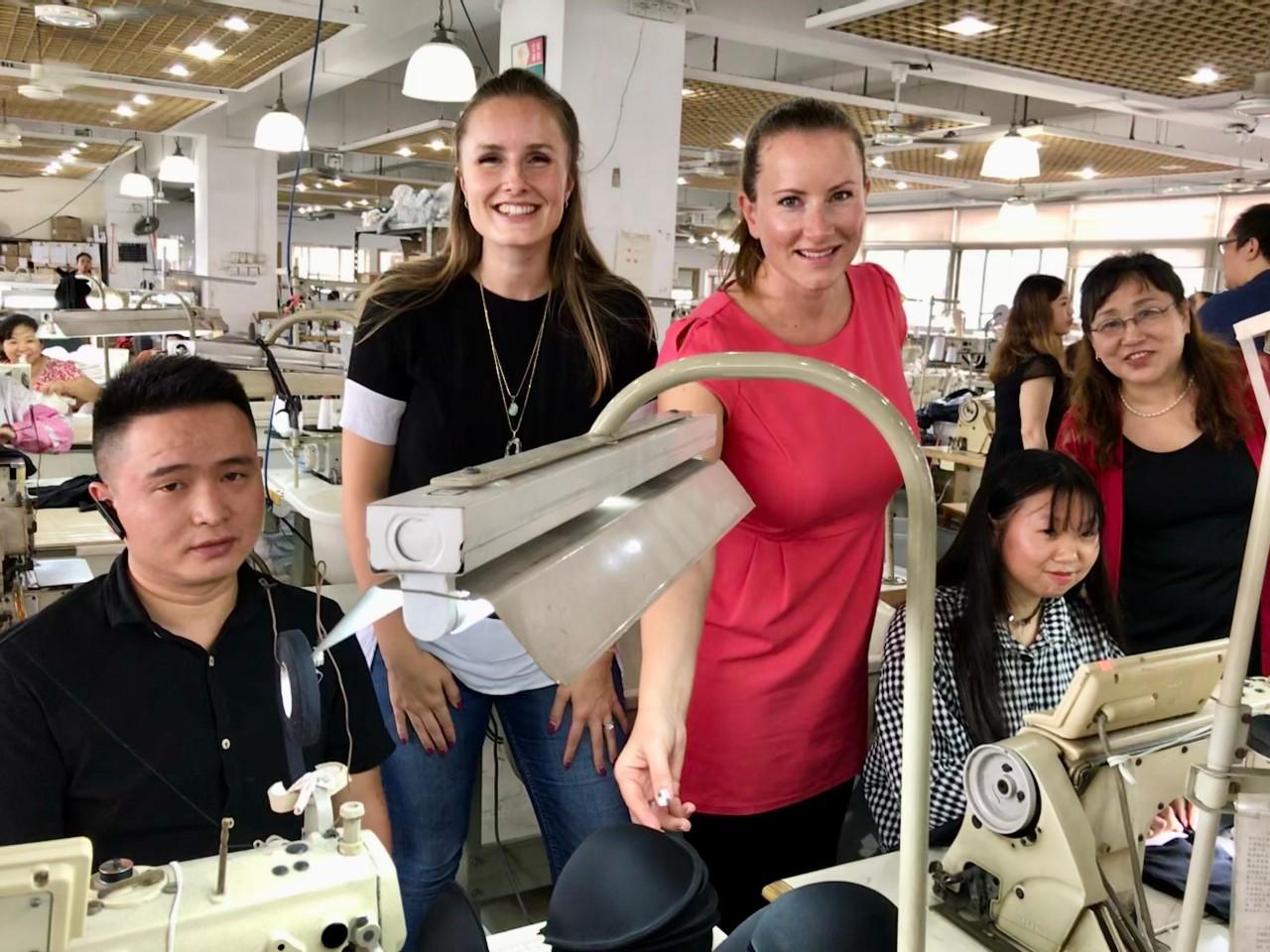 Wir zu Besuch bei einem unserer Partner in China!