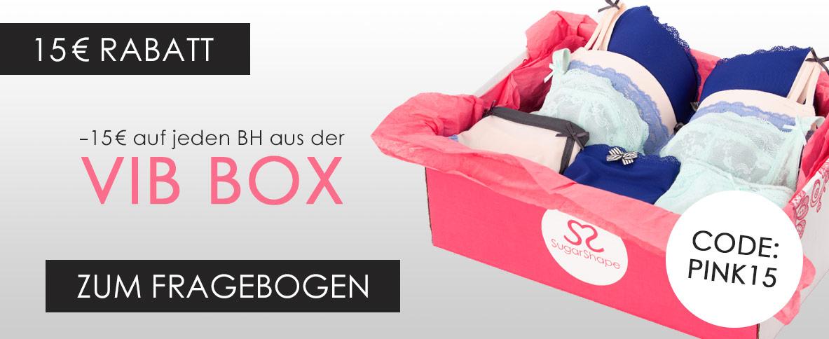 15€ Rabatt auf jeden BH aus der VIB Box