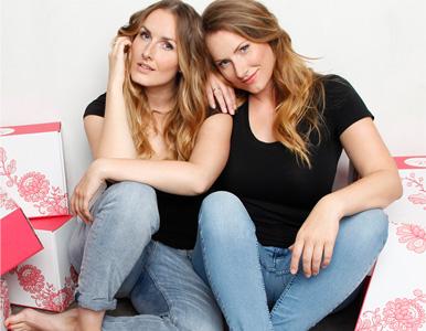 Die Gründer-Schwestern Sabrina und Laura