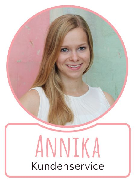 Annika - Mitarbeiterin im Kundenservice von SugarShape