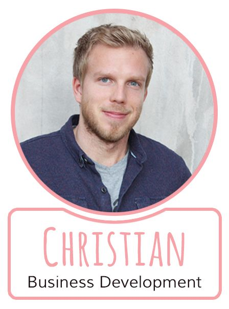 Christian - Mitarbeiter im Business Development von SugarShape