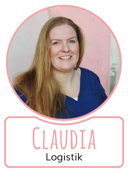 Claudia - Mitarbeiterin in der Logistikabteilung von SugarShape