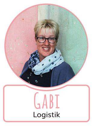 Gabi - Mitarbeiterin in der Logistikabteilung von SugarShape
