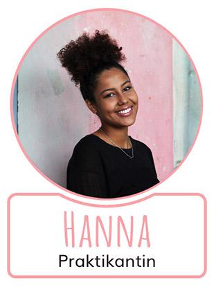 Hanna - Praktikantin bei SugarShape