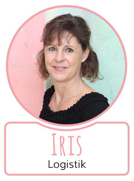 Iris - Mitarbeiterin in der Logistikabteilung von SugarShape