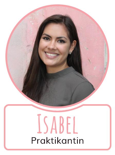 Isabel - Praktikantin bei SugarShape