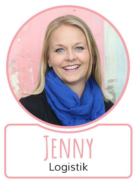 Jenny- Mitarbeiterin in der Logistikabteilung von SugarShape