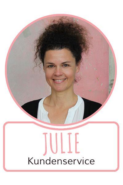 Julie - Mitarbeiterin im Kundenservice von SugarShape