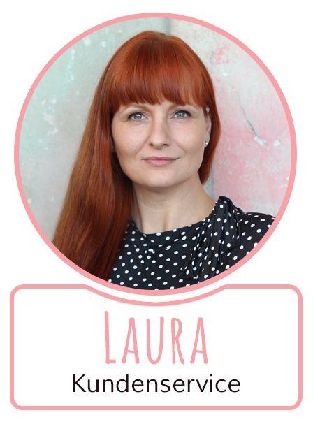 Laura - Mitarbeiterin im Kundenservice von SugarShape