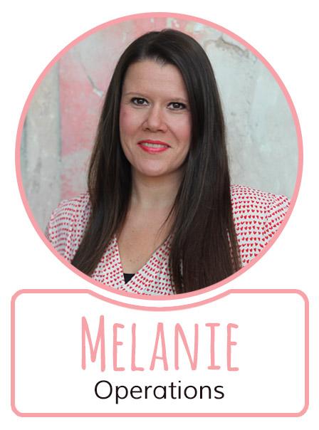 Melanie - Mitarbeiterin im Operations Management von SugarShape