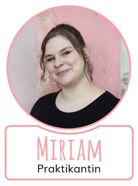 Miriam - Praktikantin bei SugarShape