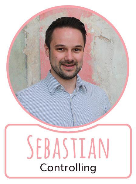 Sebastian - Mitarbeiter im Controlling bei SugarShape