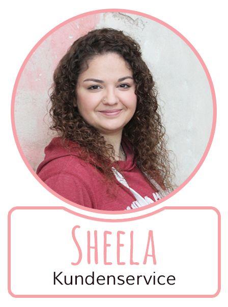 Sheela - Mitarbeiterin im Kundenservice von SugarShape