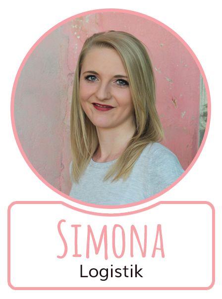 Simona - Mitarbeiterin in der Logistikabteilung von SugarShape