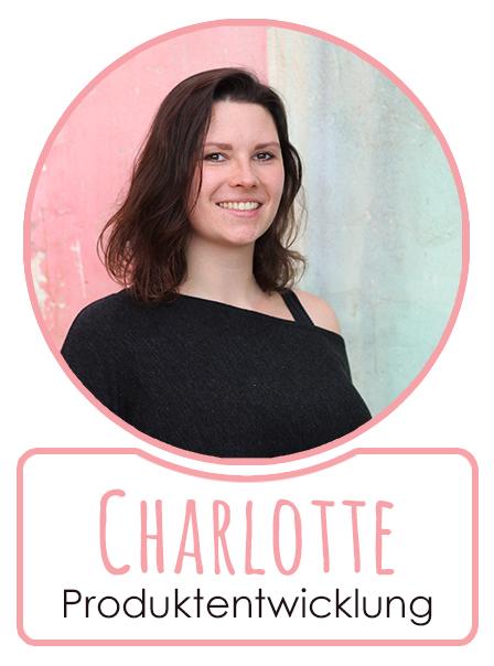 Charlotte - Mitarbeiterin im Bereich Produktentwicklung von SugarShape