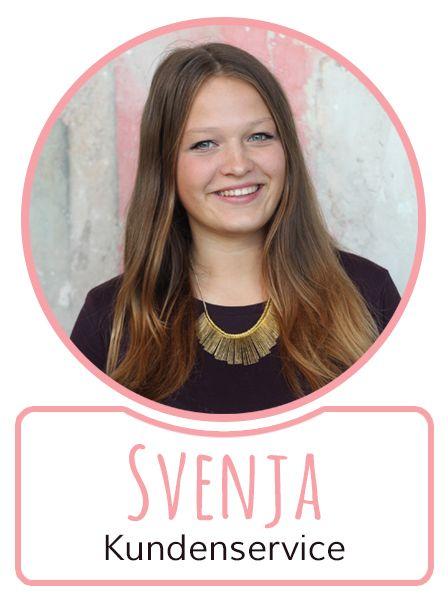 Svenja - Mitarbeiterin im Kundenservice von SugarShape