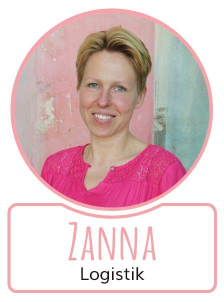 Zanna - Mitarbeiterin in der Logistikabteilung von SugarShape