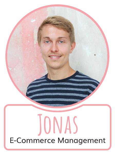 Jonas - Mitarbeiter im E-Commerce Management von SugarShape