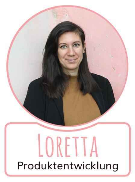 Loretta - Mitarbeiterin im Bereich Produktentwicklung von SugarShape