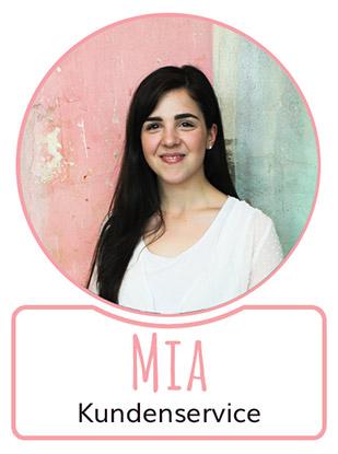 Mia - Mitarbeiterin im Kundenservice von SugarShape