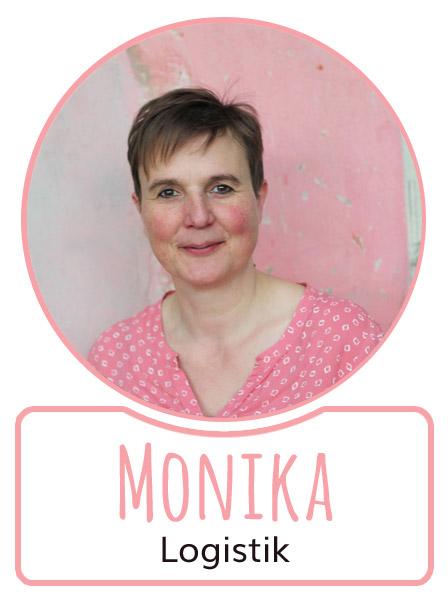 Monika - Mitarbeiterin in der Logistikabteilung von SugarShape