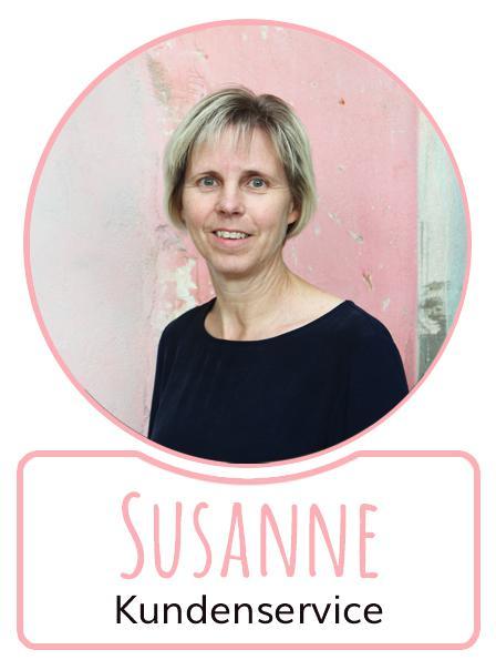 Susanne - Mitarbeiterin im Kundenservice von SugarShape