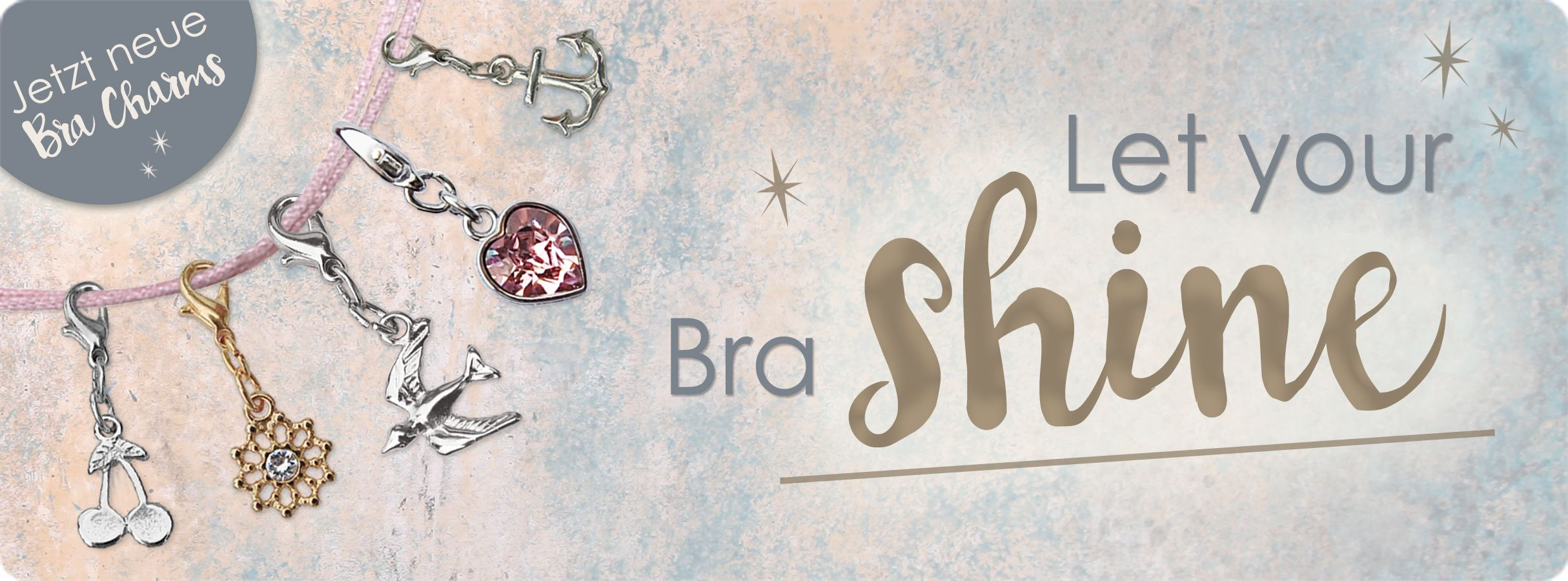 SugarShape Bra Charms