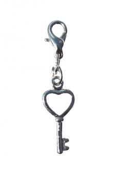 """Bra Charm: """"Key to Heart"""""""