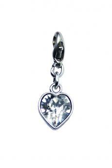 "Luxus Bra Charm: ""Crystal Heart"""