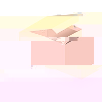 BH-Verlängerer peach 3-reihig