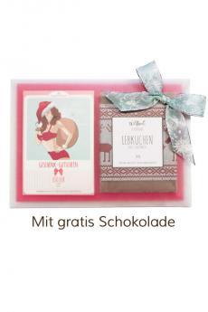 """Geschenk-Gutschein-Paket """"Santa"""""""