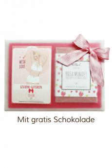 """Geschenk-Gutschein-Paket """"With Love"""""""