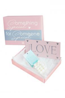 """Geschenk-Gutschein-Paket """"Love"""" / Marshm."""