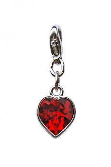 """Luxus Bra Charm: """"Red Heart"""""""