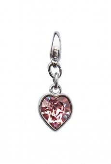 "Luxus Bra Charm ""Rose Heart"""