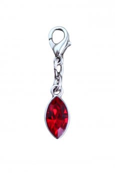 "Bra Charm ""Red Drop"""