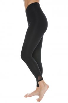 "Leggings ""Free"" black/silver"