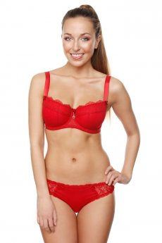 "Bra ""Ruby"" red"