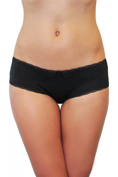 """Panty """"Pure"""" black Basic"""