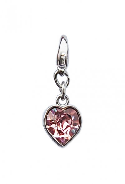 "Luxus Bra Charm ""Rose Heart"""