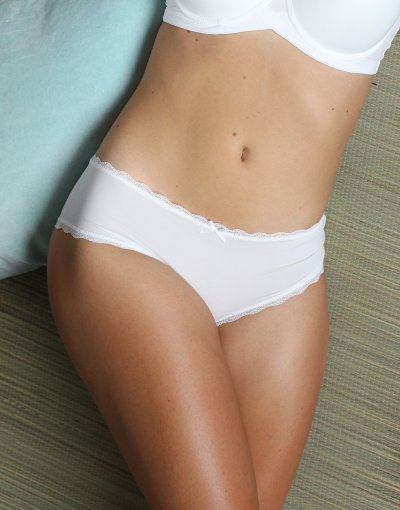 """Panty """"Pure Basic"""" ivory"""