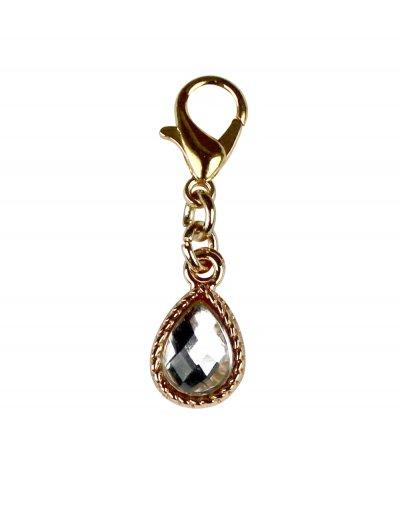 "Bra Charm ""Jewel"" crystal"