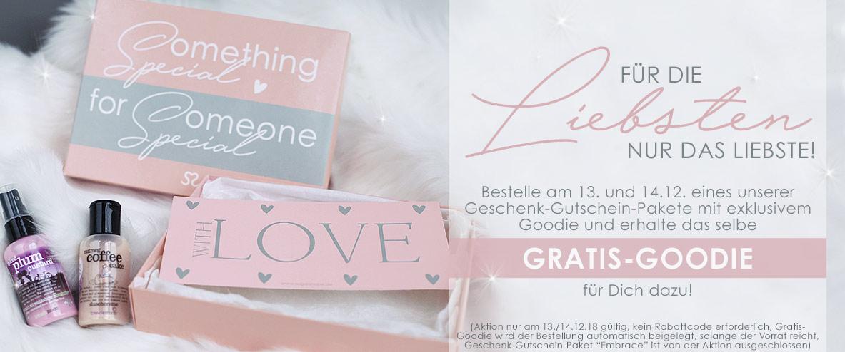 13. Türchen Adventskalender 2018 - Aktion Geschenk-Gutschein-Pakete